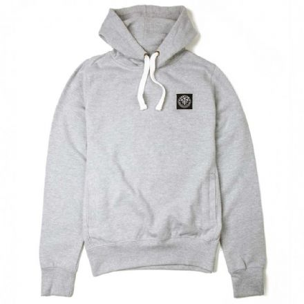 "Senlak ""Penda"" Hooded Sweatshirt - Heather Grey"